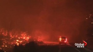 One killed in California wildfire as thousands flee
