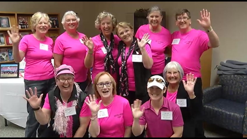 Hundreds take to the street to fight breast cancer