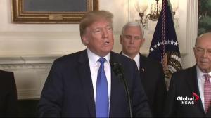Donald Trump explains new tariffs placed on China