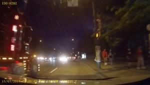 Vancouver Police hope release of dash cam video will identify suspect who pushed man into traffic