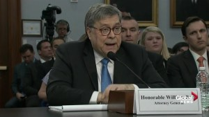 William Barr declines to answer if Trump has seen Mueller report