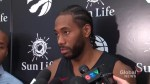 Toronto Raptors forward Kawhi Leonard says he missed 'everything' about playing