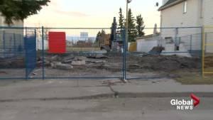 Liknes home demolished