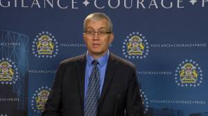 Calgary police still hoping to identify driver of red Durango in relation to 2017 double homicide (00:30)