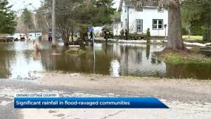 Significant rainfall in flood-ravaged communities