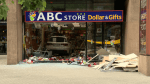 Car crashes into Vancouver dollar store