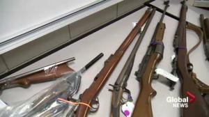 Hundreds of guns returned in first provincial gun amnesty
