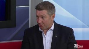 Child abuse victim advocate Sheldon Kennedy