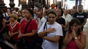 Mass held at Brazilian cathedral day after four killed there by gunman