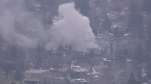 Crews on scene of house fire in Inglewood