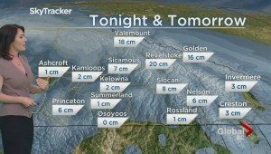 BC Evening Weather Forecast: Feb 6