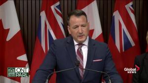 OPG to start 'winding down' reactors by Friday if legislation doesn't pass: Rickford