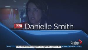 Danielle Smith joins the conversation on Calgary Global News Morning (02:42)
