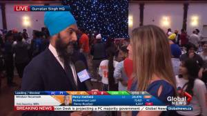 Ontario Election: Jagmeet Singh talks about his brother's big win