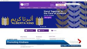 Alberta Kind campaign promotes love and peace online