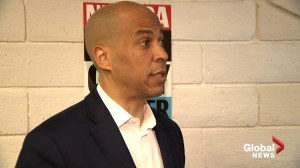 Cory Booker says there's plenty of investigations ongoing before he could re-open Mueller investigation as president