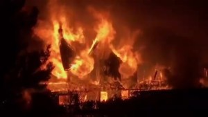 Massive fire destroys iconic Inverary Resort in Baddeck, N.S.