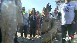 5-year-old Ghostbuster battles ghouls in Sacramento
