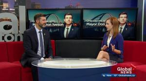 Edmonton Mayor Don Iveson on property tax increases