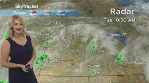 3-day forecast: funnel clouds, thunderstorms and 30 degree heat