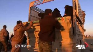 Last civilians evacuated from Islamic State's last stronghold in Baghouz