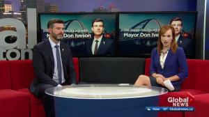Mayor Don Iveson discusses public transit