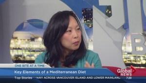 Key elements of a Mediterranean diet