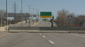Galipeault Bridge remains closed (02:20)