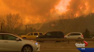 Fort McMurray principal helps students flee wildfire with school bus