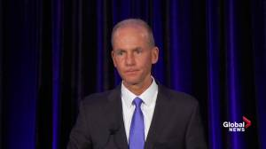 Boeing CEO admits to software issue in deadly crashes, won't resign