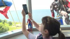 Window cleaners have a 'super' effect on pediatric patients
