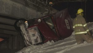 4 major accidents during Montreal snow storm
