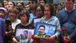 Thousands gather to mourn Olympic figure skater Denis Ten