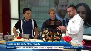 Hosting a Royal Wedding inspired tea party
