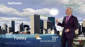 Edmonton early morning weather forecast: Wednesday, April 24, 2019