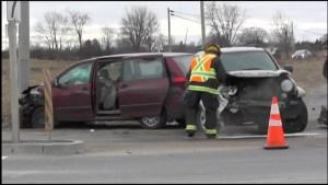 Chemong Road Crash in Peterborough