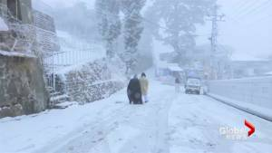 Heavy snow, rain snap dry spell in parts of Pakistan