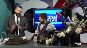 Cory Christopher's Halloween decorating ideas