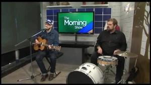 """Skip Land"" by Canadian Folk Duo  Mayhemingways available February 23rd"