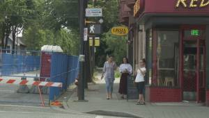 Business owners considering legal action against FortisBC for summer closure along East 1st