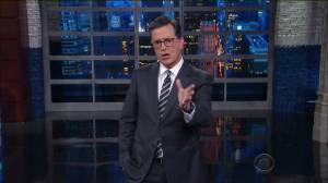 Colbert slams Trump's 'both sides' press conference
