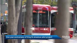 The one year anniversary of Toronto's King streetcar experiment