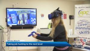 Peterborough employment centre using virtual reality to help in career search (02:58)