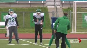 Special connection on Roughriders special teams