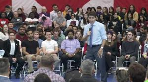 Trudeau says he continues to talk to Trump about 'challenges' around softwood lumber