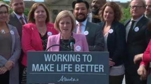'Work yet to be done' on Trans Mountain: Alberta Premier Rachel Notley