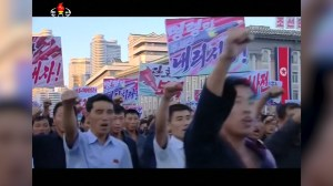Thousands attend anti-U.S. rally in Pyongyang