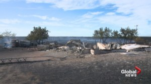 Alberta senior loses home and six buildings after grass fire