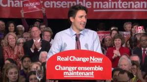 2015 Federal Election: Justin Trudeau sends message to world on behalf of Canadians – 'We're back'