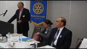 Peterborough Rotary Club hosts mayoral debate